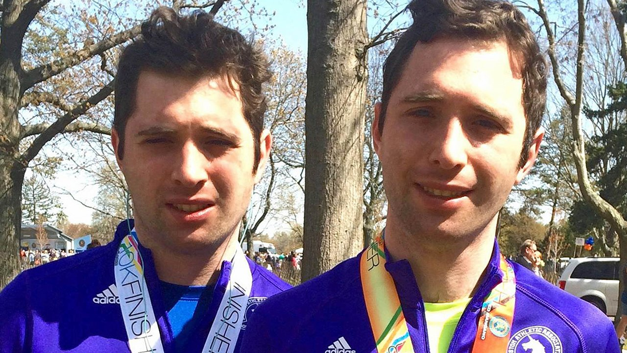 Insideedition.com: New York Twin Brothers With Autism Love Running Marathons