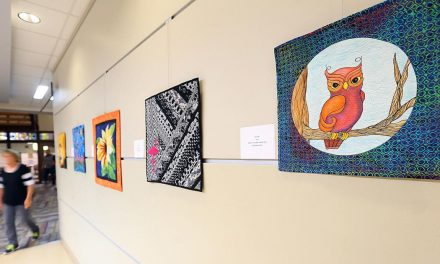 Not Your Grandma's Quilt: Library exhibit displays local guild's cutting-edge art quilts