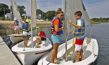 On the South Shore, kids learn early to sail
