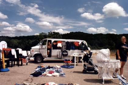 """One With the Junk: Behind the Scenes of """"The World's Longest Yard Sale"""""""