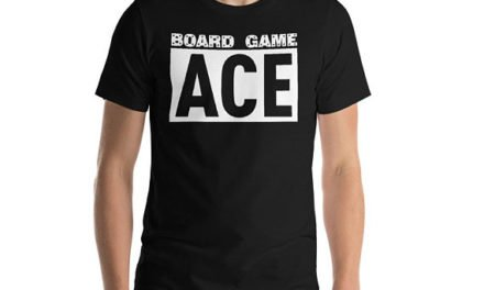 "Board Game Ace Family Game Night Champion Competition Funny T-Shirt Gift: ""Board Game Ace"" 