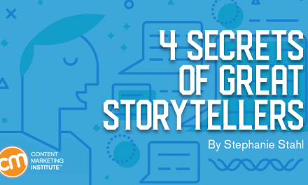 4 Secrets of Great Storytellers