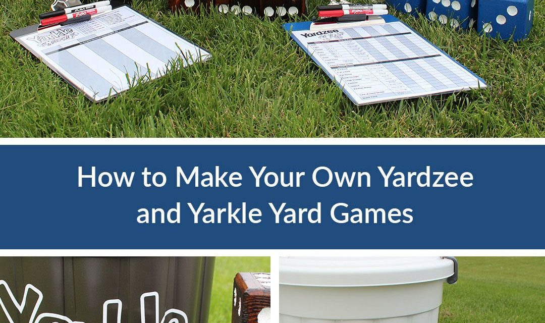 Yardzee and Farkle Yard Games