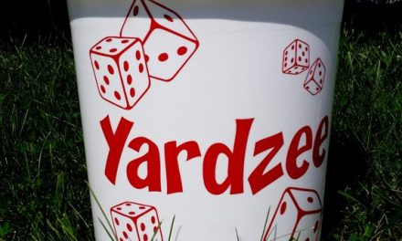 BUCKET ONLY! Yardzee, Farkle, Lawn Dice, Yard Game, Yard dice, Lawn Game, Wedding Reception Game, Outdoor Wedding, family game, outdoor game