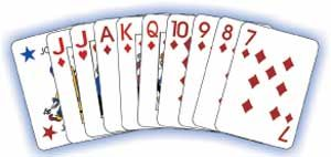 500, Five Hundred, is a game devised in America shortly before 1900 and promoted by the United States Playing Card Company, who copyrighted