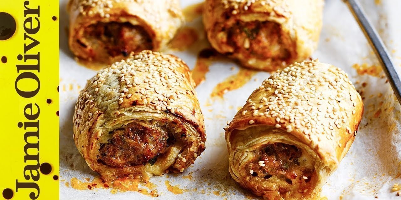 Cheats Sausage Roll | Jamie Oliver