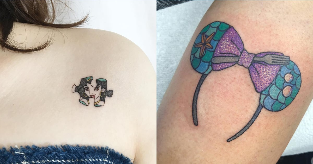 80 Tiny and Adorable Disney Princess Tattoos For Fans of Fairy Tales and Happily Ever Afters