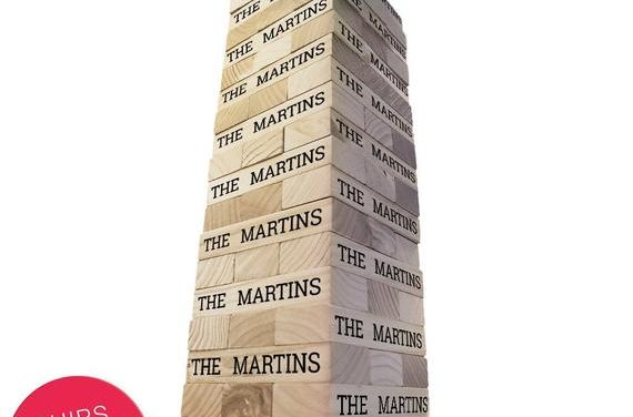 Personalized Family Name Topple Tower – Giant Lawn Game – Giant Block Game – Yard Game – Outdoor Games – Indoor Games