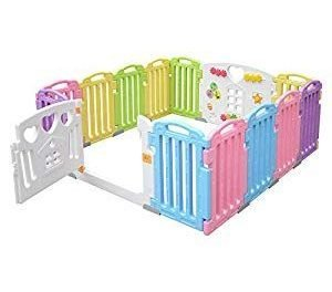 Baby Playpen 14 Panel Kids Activity Centre Safety Play Yard for Home Indoor Outdoor – LIVINGbasics #Toys-Games #Party Supplies #Party
