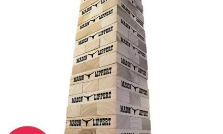 Personalized First and Last Name Western Bull Topple Tower – Giant Lawn Game – Giant Block Game – Yard Game – Outdoor Games – Indoor Games