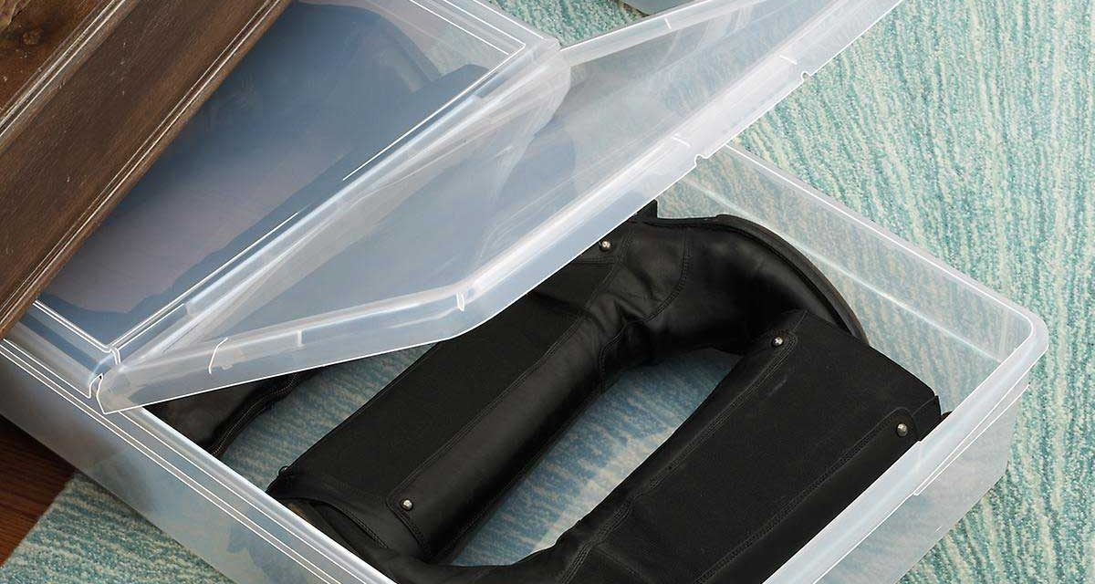 Under Bed Shoe Storage: 8 Best Ideas